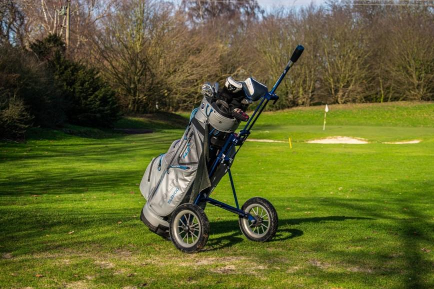 bicad.golf auf Golfplatz
